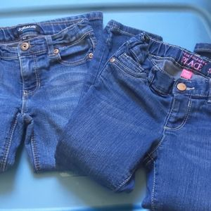 2 Pair of 4t jeans